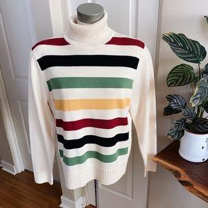 Pendleton 100% Merino Wool Glacier Stripe Sweater